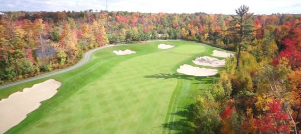 Golf Course Aerial Video   Flight Sight Footage