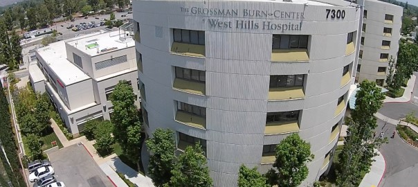 Grossman Burn Foundation | Aerial Photography Thousand Oaks
